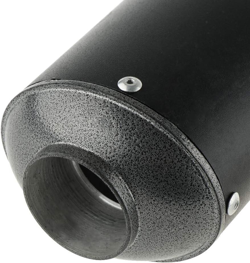 38mm Almencla Tuyau Central Silencieux D/échappement Moto Pot D/échappement Universel pour 50cc-125cc