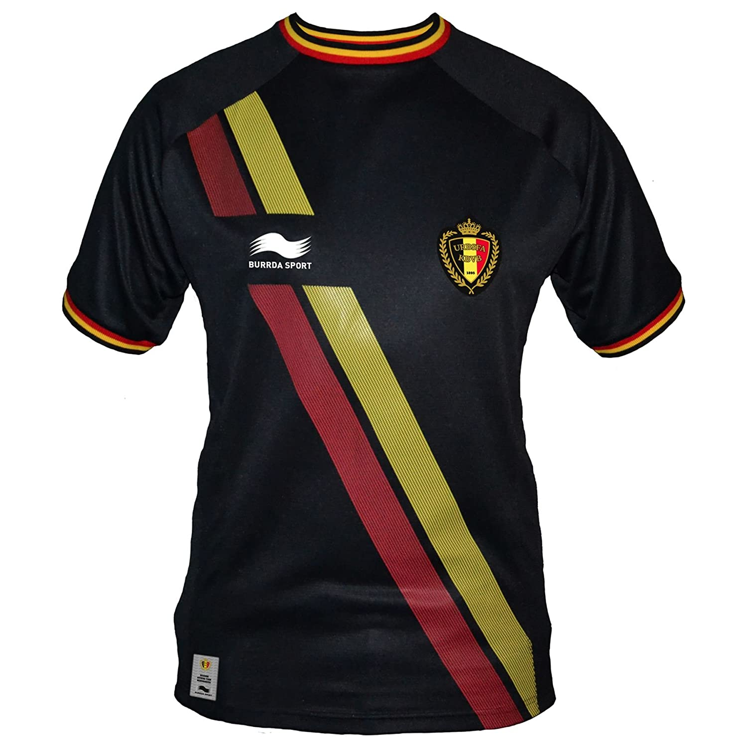 2014-15 Belgium Away World Cup Football Shirt Burrda