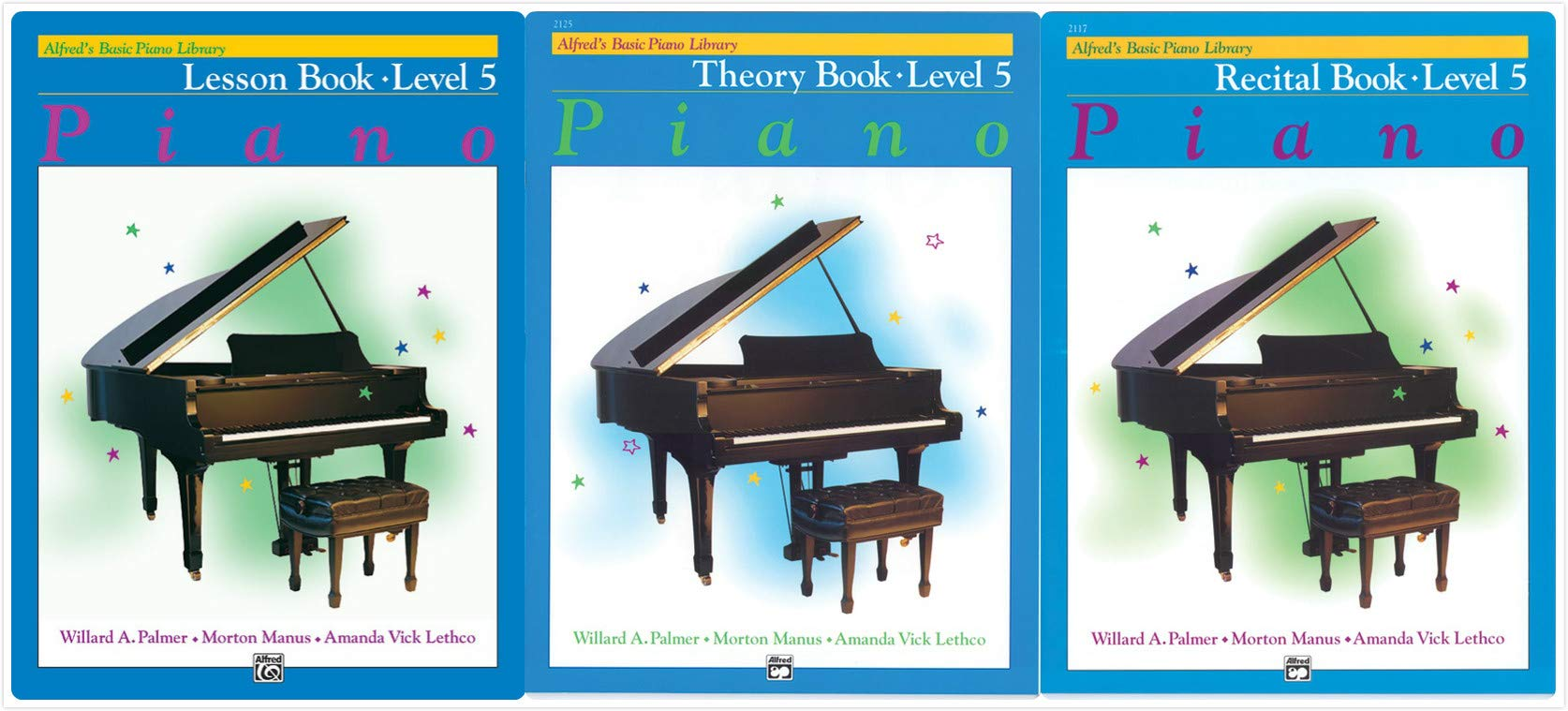 Lesson Book Level 5 from Alfred/'s Basic Piano Library *NEW*