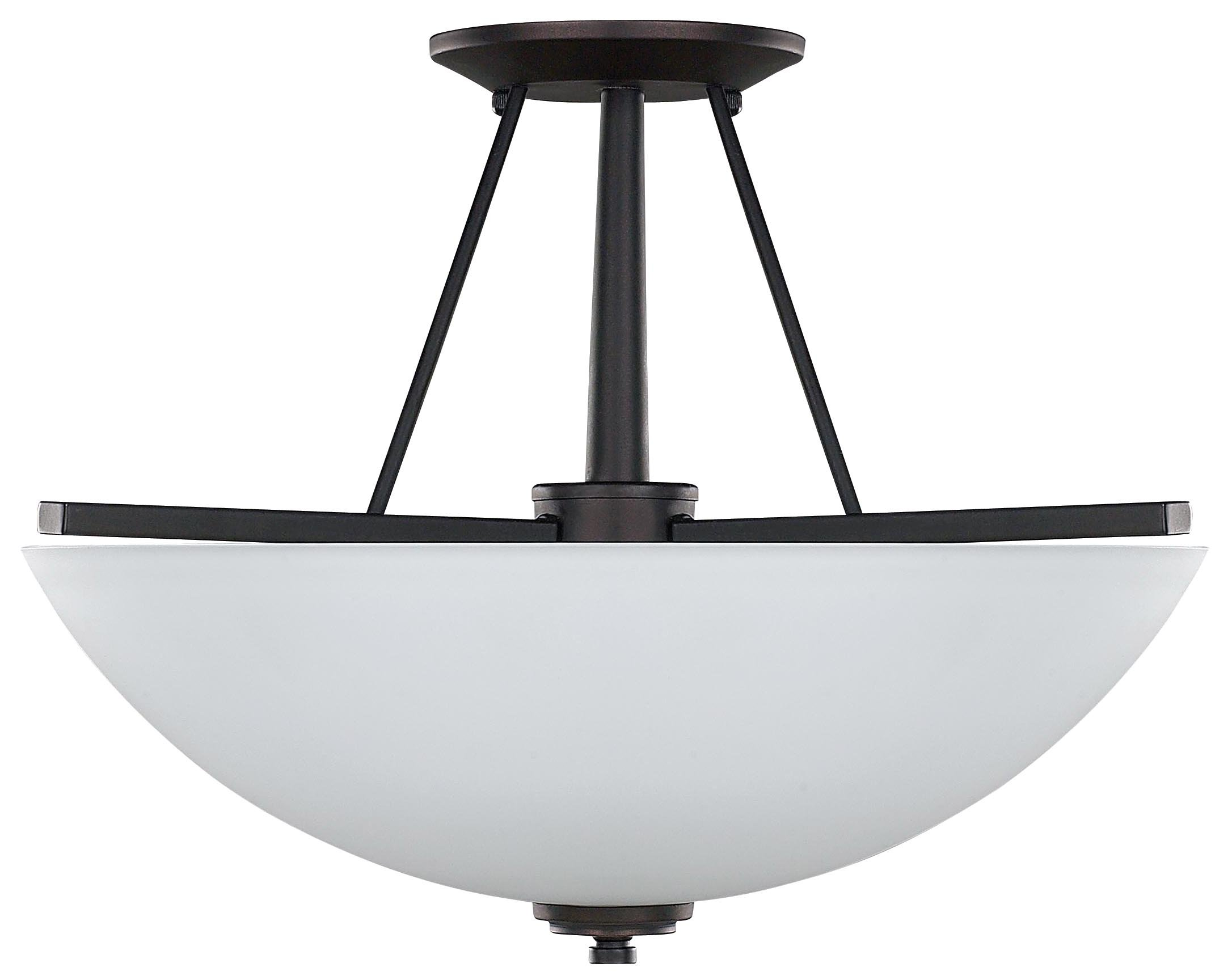 Canarm ISF256A03ORB New Yorker 3-Light 15-Inch