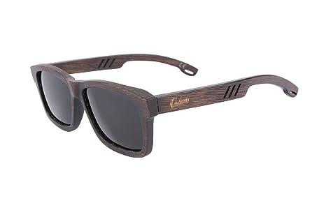 Vickmars PURE Gafas de sol en madera de bambú / POLARIZADAS ...