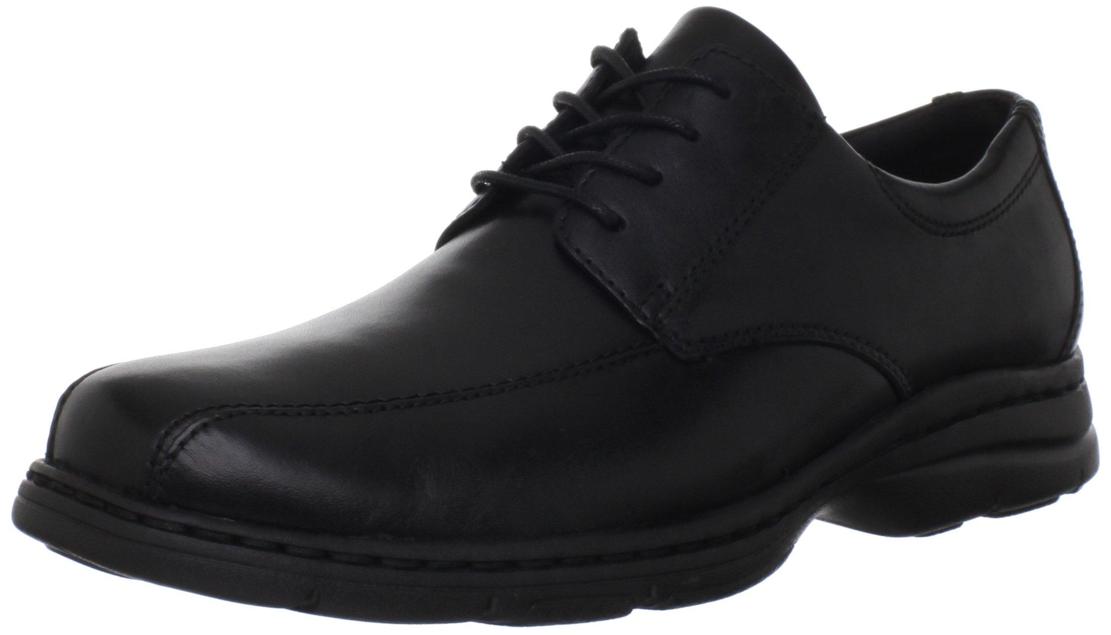 Dunham  Men's Bryce Oxford,Black Smooth,11.5 D US
