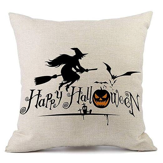 Fundas de almohada, tecla Happy Halloween 18