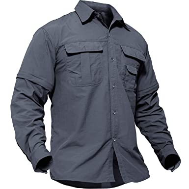5f6fefbc753a4f TACVASEN アウトドア メンズ 長袖 tシャツ スリム 無地 半袖 迷彩 おしゃれ 大きいサイズ 兼用 夏 グレー
