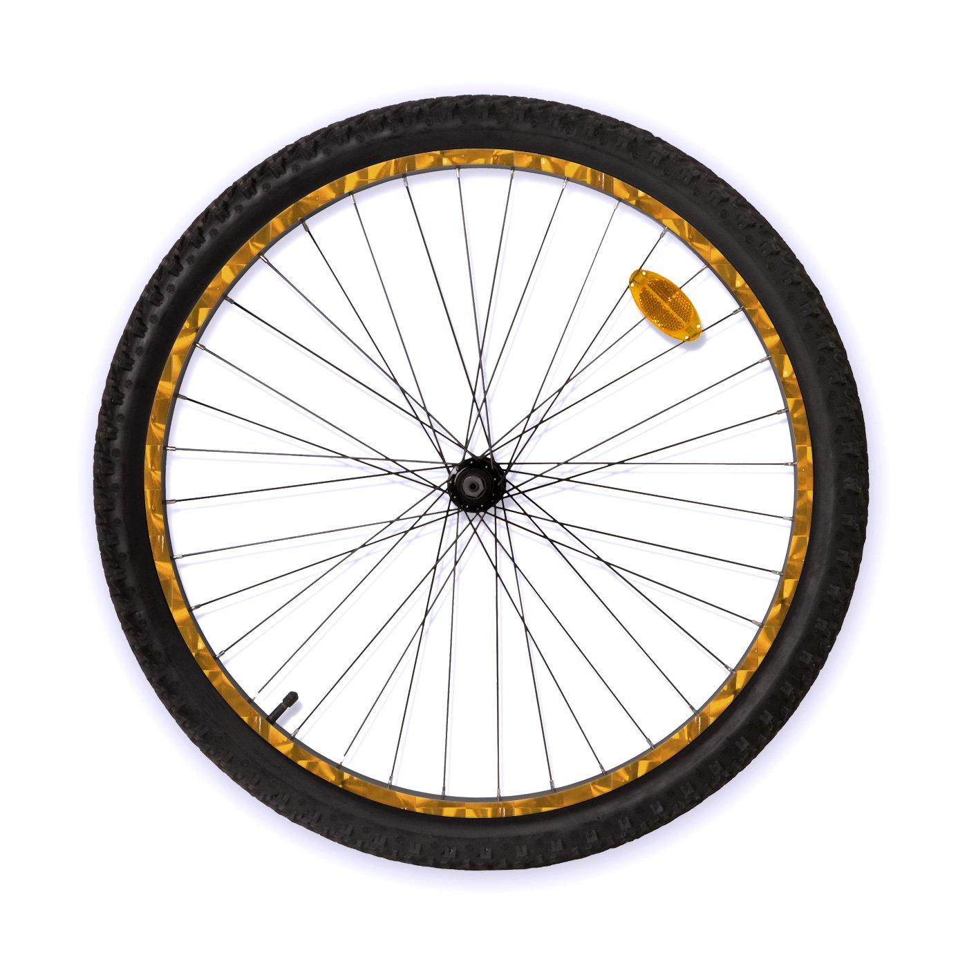 rimSkin Non-Machined Single Wheel Rim Skin Pack for MTB//Beach Cruiser//Trail Bike