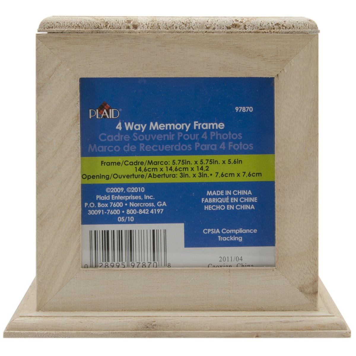 Amazon.com - Plaid 4-Way Memory Frame, 97870 -