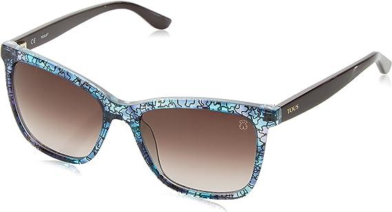 TOUS STOA02-5305AP Gafas, Rosa/Azul, 53/17/135 para Mujer