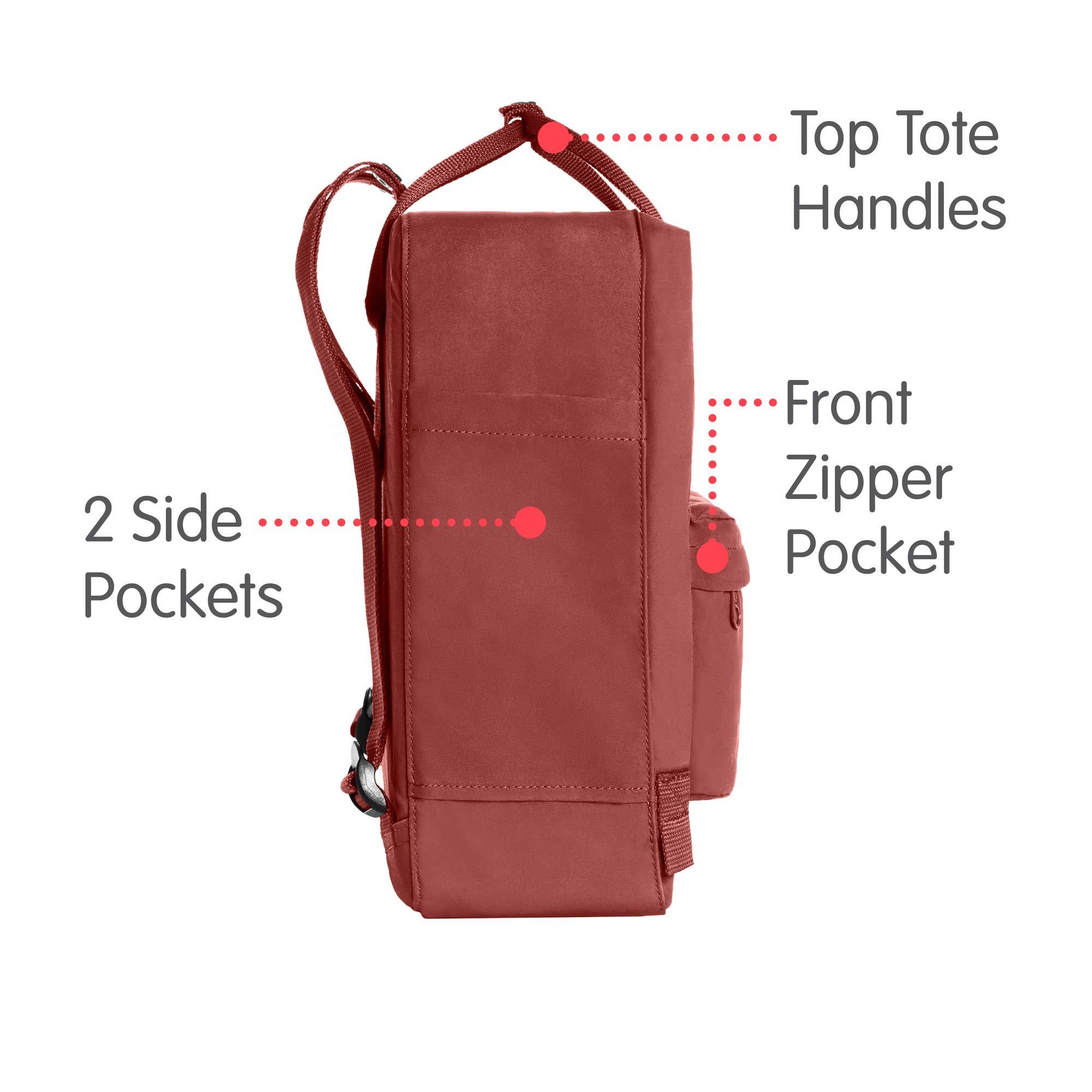 Fjallraven - Kanken Classic Backpack for Everyday, Dahlia by Fjallraven (Image #4)