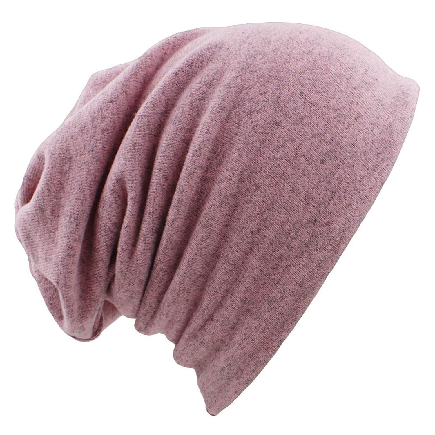 Autumn Winter Dual-use Hats for Women Girl Scarf Solid Thin Ladies
