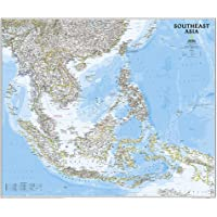 Southeast Asia Classic, Laminated: Wall Maps Countries & Regions