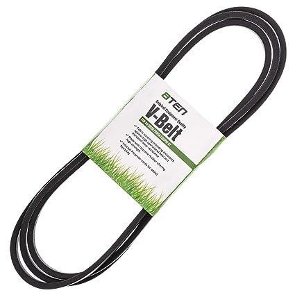 Amazon.com: 8TEN Deck Belt for Cub Cadet LT1045 i1046 LT1046 ...