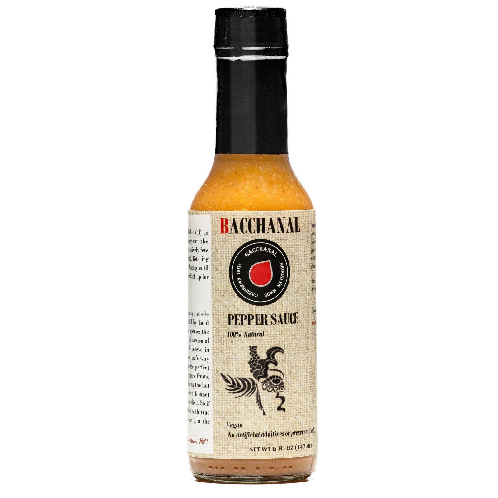 Hot Sauce, Habanero Sauce, Scotch Bonnet Pepper, Hot Pepper Sauce, Hot Sauce with Flavor, Bacchanal Pepper Sauce 5oz by Bacchanal Sauce (Image #4)