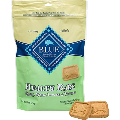 Click for Blue Buffalo Blue Apple and Yogurt Health Bar Bag, 16 oz.