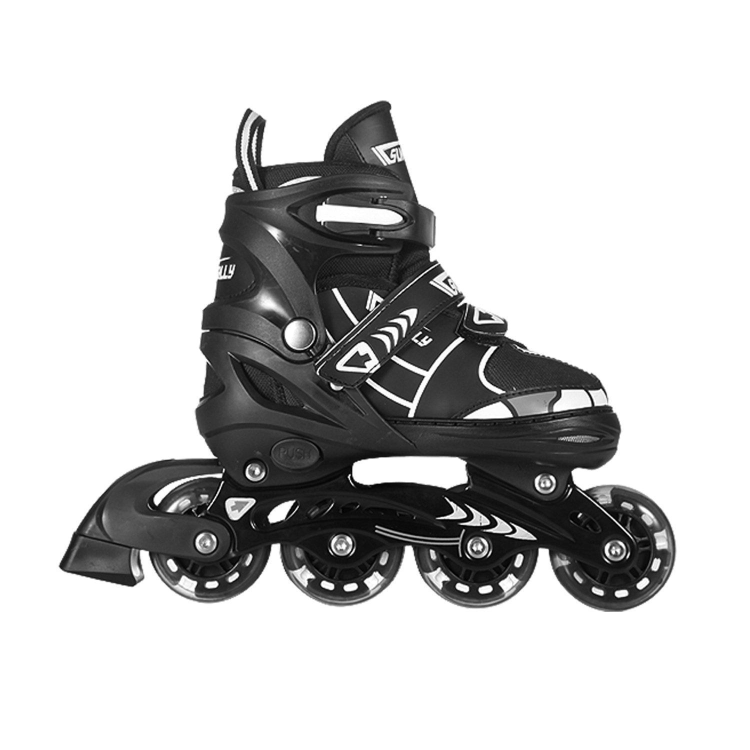 Tuko Rollerblade Adjustable Inline Skates for Boys (US little kid 12M/13M/1M)