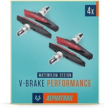 2-10 x Fahrrad Bremsen Fahrradbremse V-Brake Bremse V-Bremse Bremsbeläge 72mm