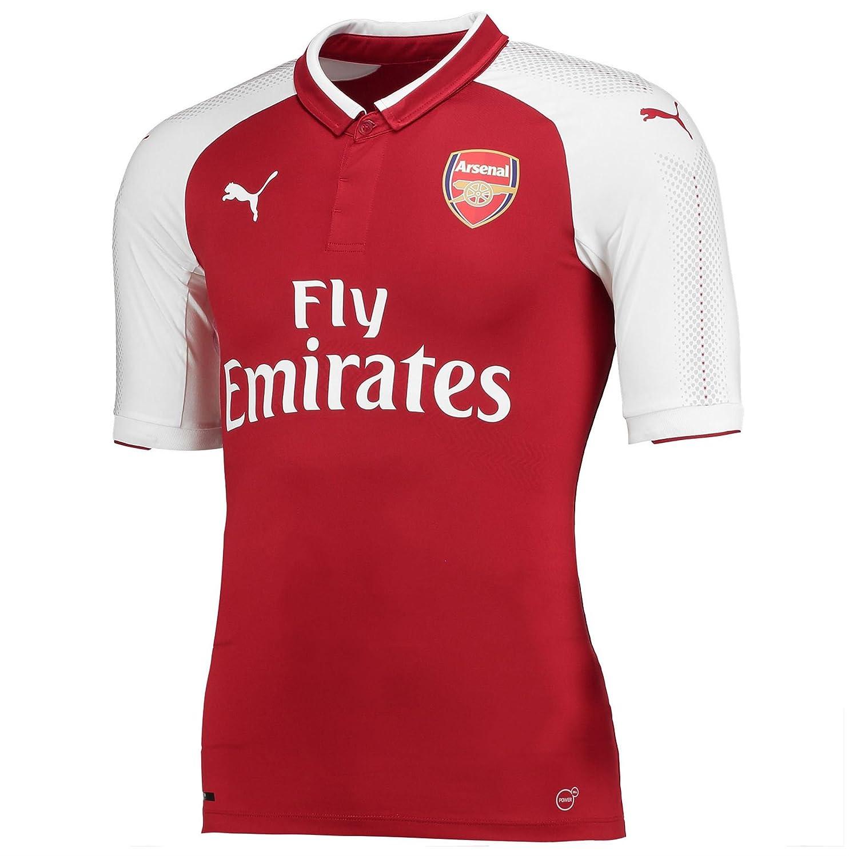 2017-2018 Arsenal Puma Home Authentic Football Shirt