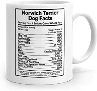 Amazon.com: Norwich Terrier Dog Facts, Norwich Terrier Mug