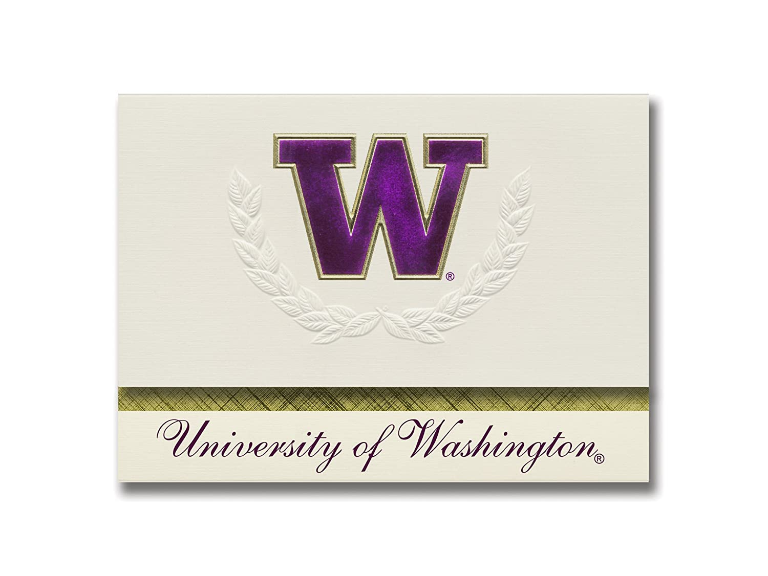 Amazoncom Signature Announcements University Of Washington
