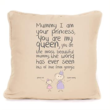 Cojín personalizable del día de la madre, idea de regalo ...