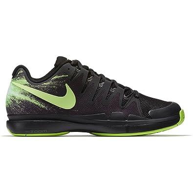 cheap for discount 2fa94 32a8a Nike Chaussures de Tennis Homme Zoom Vapor 9.5 Tour 812937 003 noir vert-42