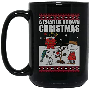 Amazoncom A Charlie Brown Christmas Funny Snoopy Ugly Xmas Sweater