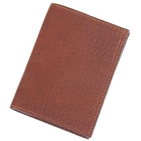 Amazon.com: Funda de piel tipo tarjeta de crédito Efectivo ...