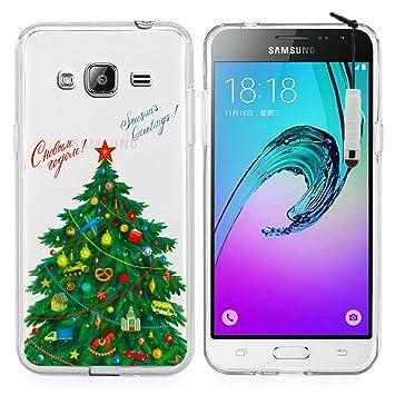 HCN PHONE Samsung Galaxy J3 (2016) funda carcasa de silicona ...