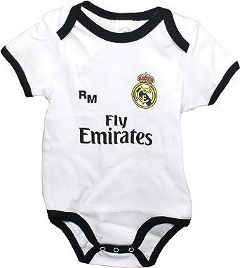 Set Schwarz schwarz//grau 0-24 Monate Real Madrid FC Baby Jungen