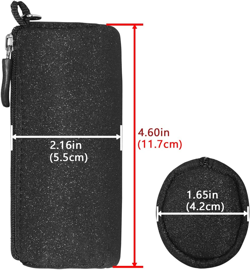 Geekria Carrying Pouch case Portable Wireless Earbud Box Pouch Protector//SoundSport Mini Storage Case Compatible with Bose SoundSport Free Truly Wireless Sport Headphones Travel Bag Black