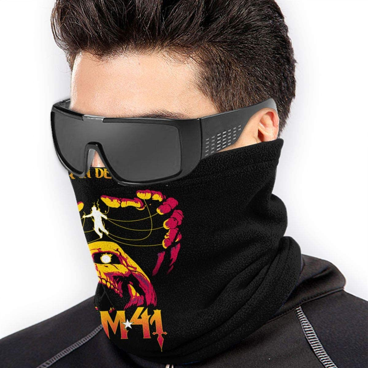 Sum 41 Breathable Face Mask Scarf Microfiber Neck Warmer For Unisex
