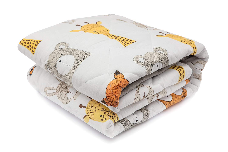 Lionhouse Anti-Rutsch gepolsterte Baby Spielmatte Gro/ß 150 x 100 cm maschinenwaschbar 100/% Baumwolle Oberfl/äche
