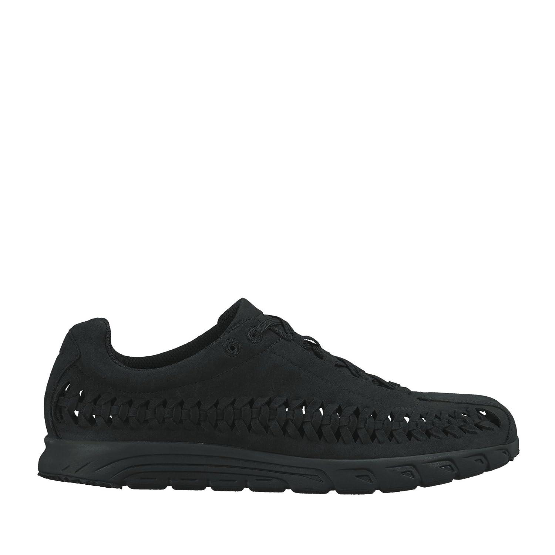 NIKE Men's Mayfly Woven Casual Shoe B01IQYQMWG 8 M US|Black/Black