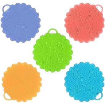 Amazon.com: ONSON - Esponjas de limpieza de silicona ...