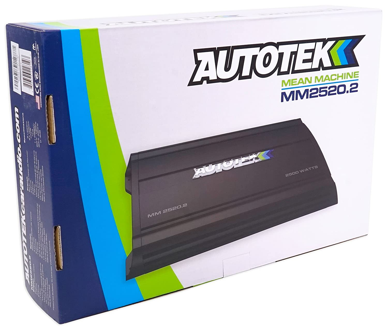 Autoradio's, hifi, video, GPS AUTOTEK MM2520 2 Mean Machine