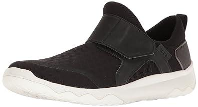 Teva Men's M Arrowood Swift Slip on Hiking Shoe, Black/White, ...