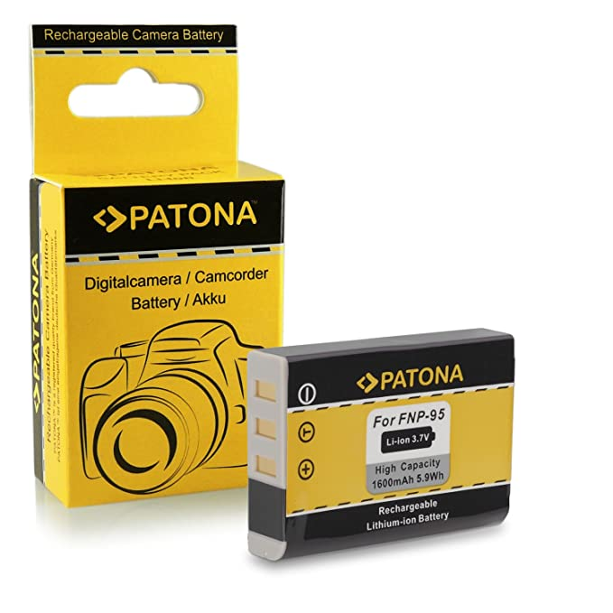150 opinioni per Batteria NP-95 NP95 per Fuji Fujifilm