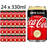 Coca Cola Zero Sugar Vanilla 330ml x 24