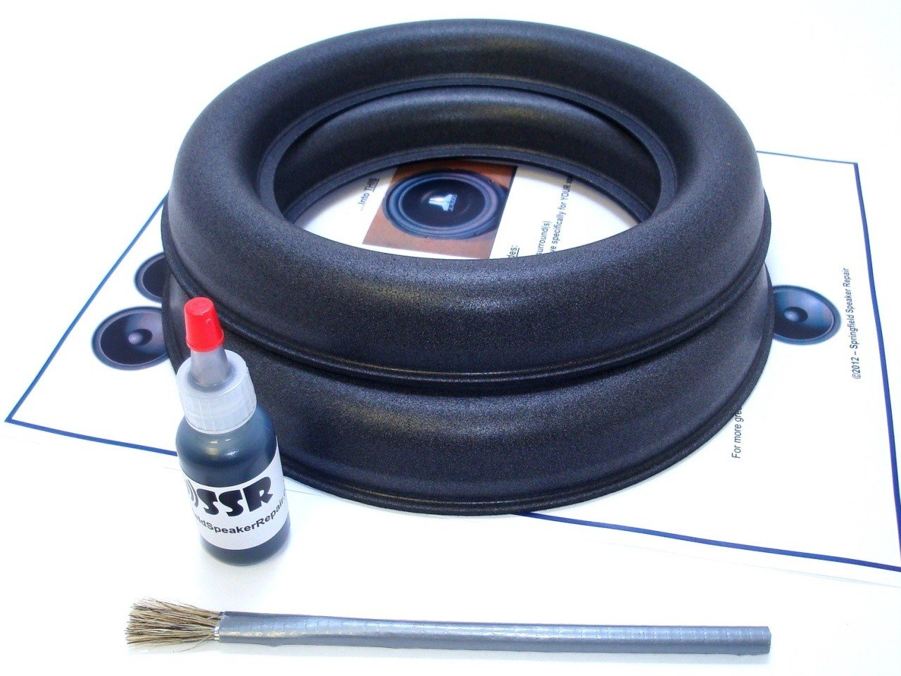 JL Audio 8W7 Speaker Foam Surround Repair Kit - 8 Inch