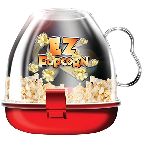 CONNECTWIDE® POP CORN MAKER ,Qty(.1pcs) Dimensions: 15.2 x 15.2 x 15.2 cm, Color- Assorted Popcorn Makers at amazon