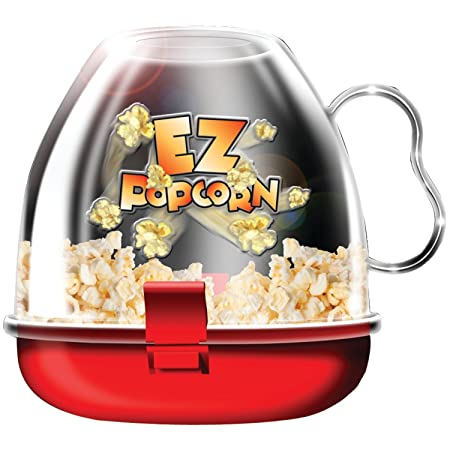 CONNECTWIDE® POP CORN MAKER ,Qty(.1pcs) Dimensions: 15.2 x 15.2 x 15.2 cm, Color- Assorted Popcorn Makers at amazon