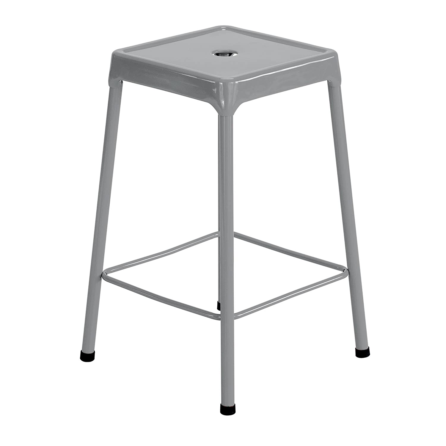 Safco Products Stool, 25 , Silver