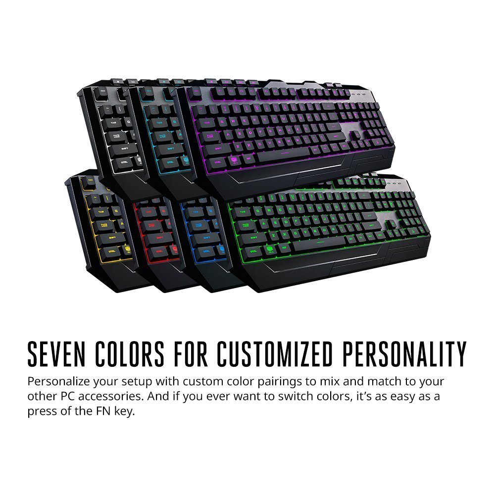 7c6a2128ff8 Amazon.in: Buy Cooler Master Devastator Gaming 3 Keyboard and Mouse Combo  with 7 Colour LED Backlit Option Online at Low Prices in India | Cooler  Master ...