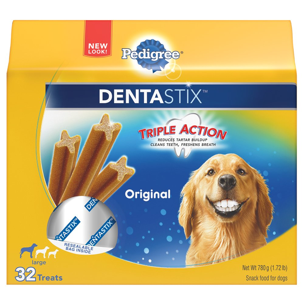 PEDIGREE Dentastix Large Dog Treats Original 32 Treats