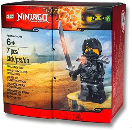 Amazon.com: LEGO Ninjago 5004393 Stone Armor Cole Brand new! sealed  promotion box: Toys & Games