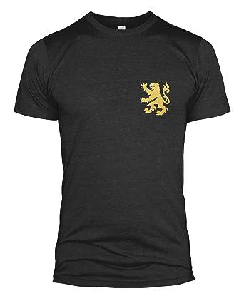 25bb2f7de Belgium Retro Football T Shirt Kit Badge Russia World Cup 2018 Vintage Men  L254