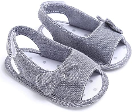 Newborn Girl Toddler Baby Soft Sole Bowknot Shoes Crib Prewalker Shoes