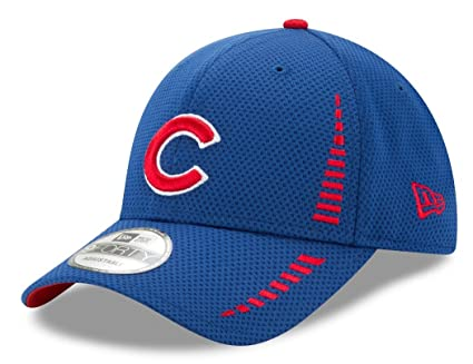 dd1605d2c55 Image Unavailable. Image not available for. Color  New Era Chicago Cubs  9Forty MLB Speed Performance Adjustable Hat ...