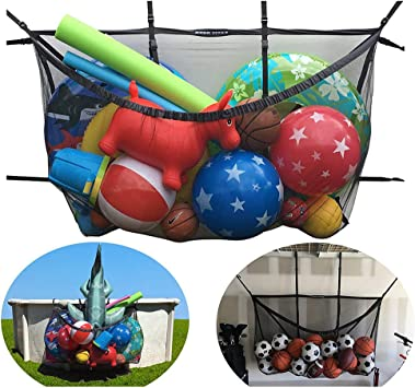 HANSHI HDZ05 - Bolsa de Malla para balones de Baloncesto, fútbol ...