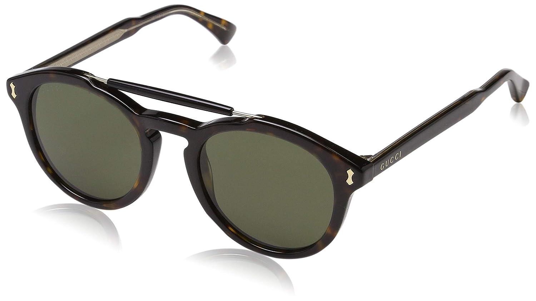 da9a359034 Amazon.com  Gucci Unisex Gg0124s 50Mm Sunglasses  Clothing