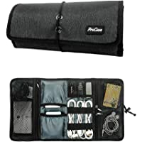 ProCase Travel Gear Organizer Electronics Accessories Bag, Small Gadget Carry Case Storage Bag Pouch for Charger USB…